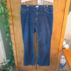 J Jill Blue Active Below Waist Denim Jeans